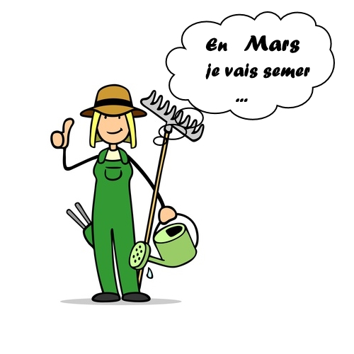 Calendrier des travaux du jardin : que semer en mars ?